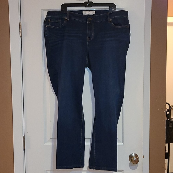 Torrid size 22 extra tall boot cut jeans